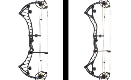 The new Bowtech Prodigy (left) and Boss (right).