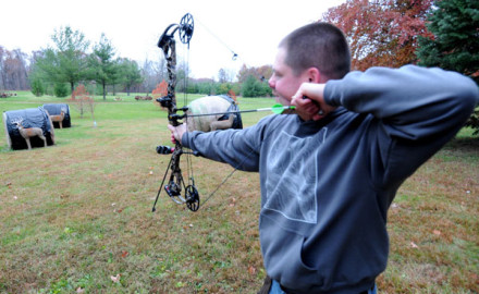 Mathews unveiled its 2015 bow lineup Wednesday, and the flagship NO CAM HTR was in my hands within