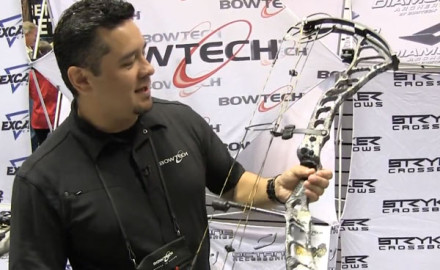 Bowtech was at the 2015 ATA Show in Indianapolis to introduce its newest compound bow, the