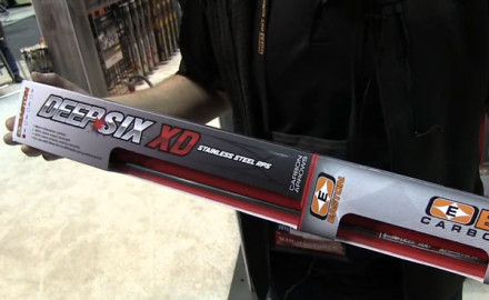 Easton Archery was at the 2015 ATA Show in Indianapolis to introduce its newest arrow, the Deep