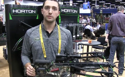 At the 2015 ATA Show in Indianapolis, Ind., Horton introduced its newest crossbow, the Horton