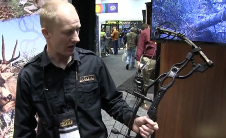 Hoyt was at the 2015 ATA Show in Indianapolis to introduce its newest compound bow, the Carbon