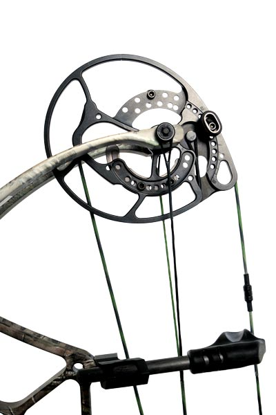 A closer look at the H15 Hybrid cam system — new on all 2015 Arena bows from Bear Archery.