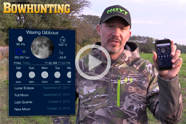 Moon Phase, Moon Position and the Whitetail Rut