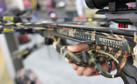 Barnett's new crossbow, the Whitetail Hunter, is designed for tree stand hunters. With a