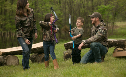 A bow that can easily be adjusted to fit the entire family is a bow that is loaded with value.