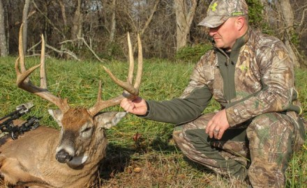 In the late summer of 2013, Ohio bowhunter Chad McKibben began collecting trail camera pictures of
