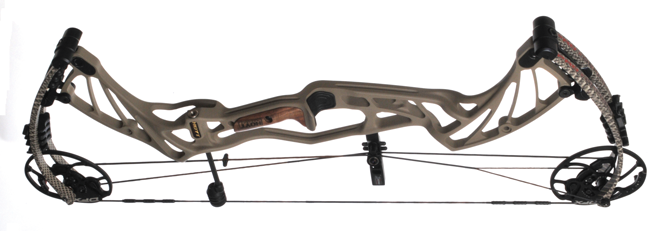 Hoyt's 2017 Pro Defiant is home to the company's popular DFX Cam & ½ system, which clocks in at an advertised 331 fps IBO. Complementing the cams is a set of Hoyt's UltraFlex split limbs that reach a beyond parallel position at full draw for a quieter shot with reduced hand shock and bow vibration. The new riser has an aggressive look and features a tunnel configuration on the lower half for optimized stiffness and stability.