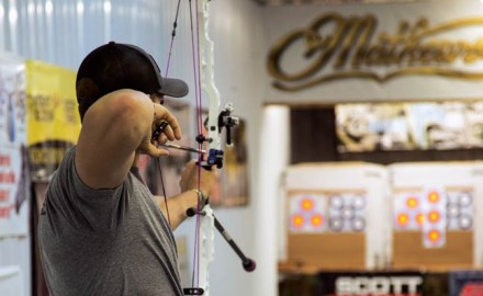 We all realize that to shoot a bow, some form of pushing and pulling has to take place — but