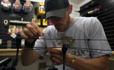 Few bowhunters spend much time worrying about the serving thread on their bowstring and/or cables.