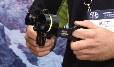 Lynn Burkhead talks to Scott Bakken about the new bow sight from HHA Sports – the Optimizer