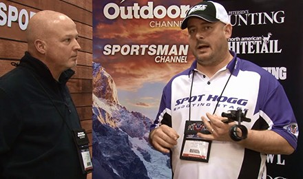 Josh Johnson introduces new products from Spot-Hogg, like the Cameron Hanes Keep Hammering Boa