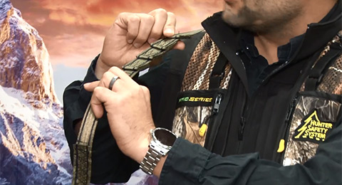 New Feature-Packed Hunter Safety System Harness
