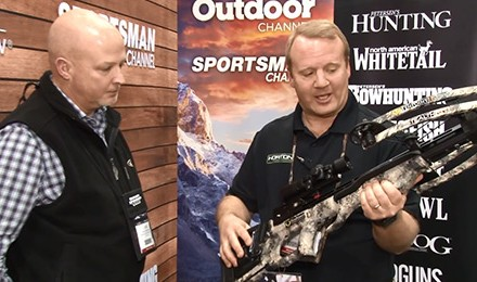 Randy Wood introduces new TenPoint Crossbows for 2018 at this year's ATA Show in