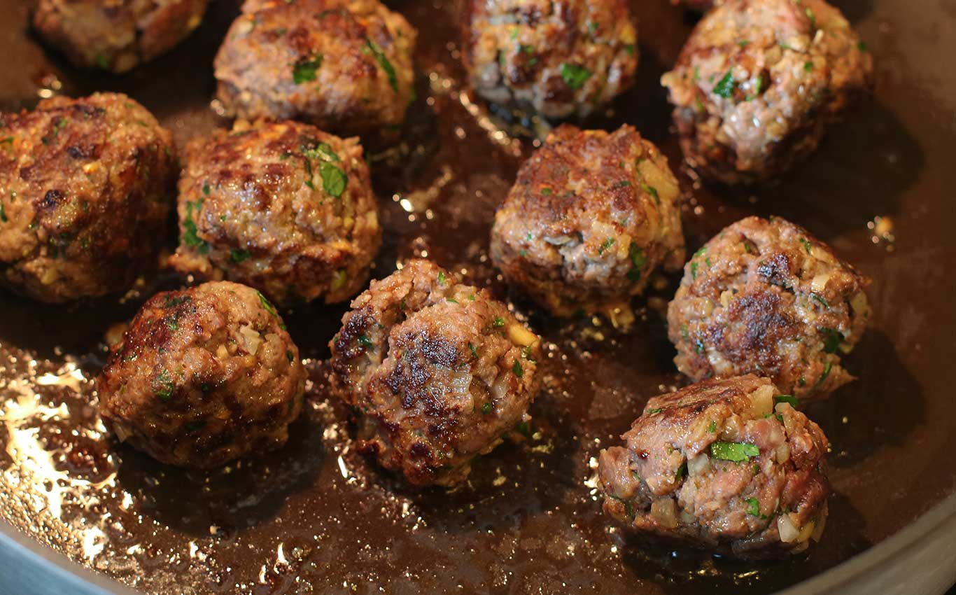 Venison Swedish Meatballs Recipe