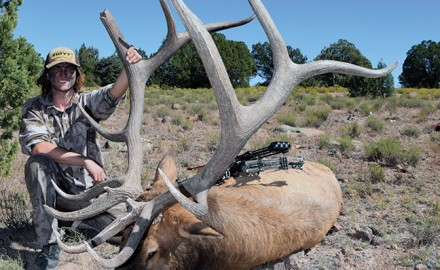 Levi Ulmer with Elk