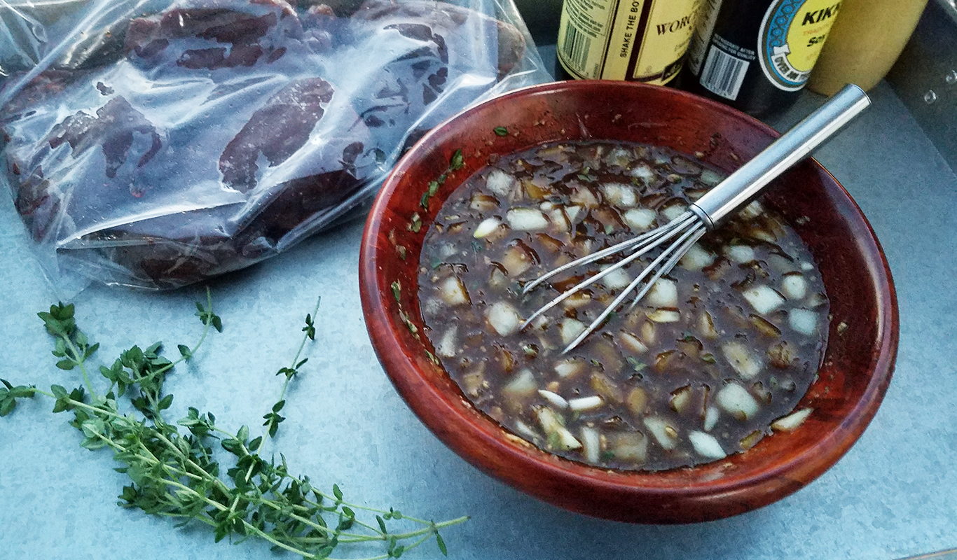 Easy Venison Marinade Recipe