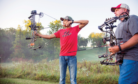 By simply increasing your maximum effective range from 25 to 35 yards, you significantly increase your odds of having a deer within bow range this fall.