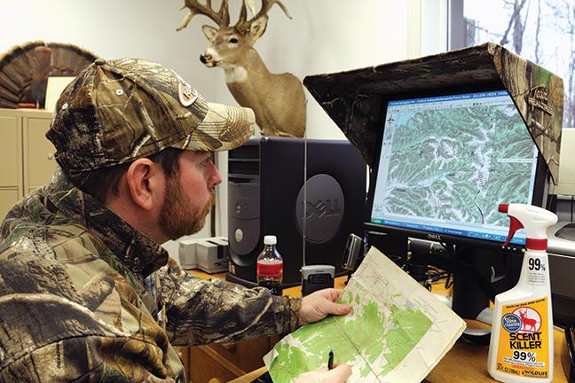 Studying topo maps