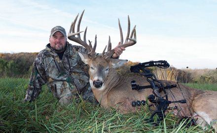 Adam Hays with whitetail