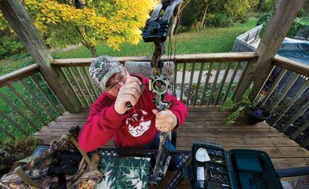Hunter tuning bow