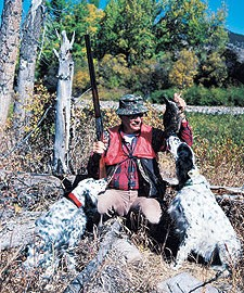 English Setters And American Bird Hunters Go Way Back