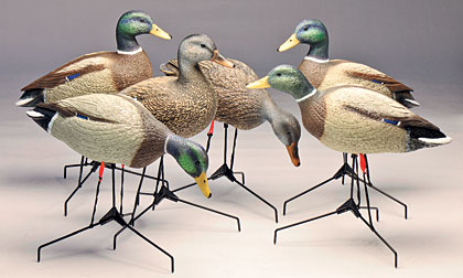Designed, carved and textured by waterfowl innovator Art Ladehoff, the Legacy Series.