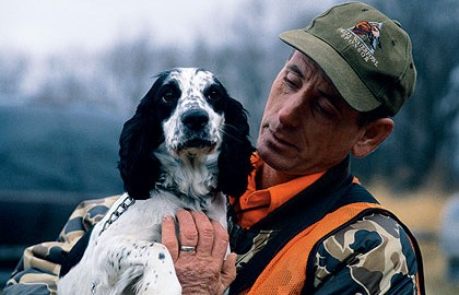 A gun dog is only as good as its mentor