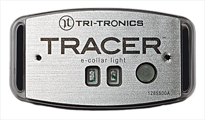 By Ryan Hamre    Tri-Tronics' Tracer E-Collar Light is a lightweight, very brilliant