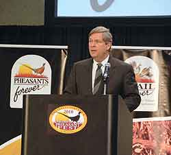 By Joel Vance    USDA Secretary Tom Vilsack announced a new CRP sign-up at the 2010