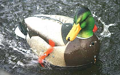 Creating on-the-water motion has always proved problematic for waterfowlers wishing to rig up the ultimate illusion...