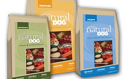 By Aaron J. Decker    New to the dog food market, Perfectly Natural Dog is a holistic