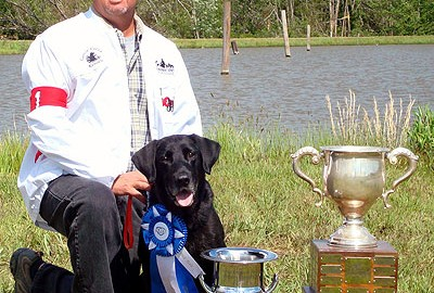 Golden, CO -- Third time isn't a charm if you're talking about winning the Super Retriever Series