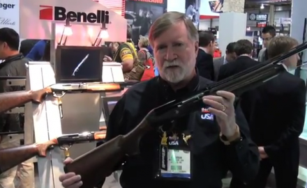 Joe Coogan of Benelli USA introduced us to the Benelli Ultra-Light in 28 gauge at SHOT Show 2012.