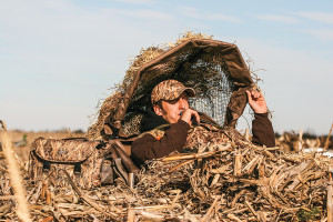 Why its smart to hunt from a ground blind