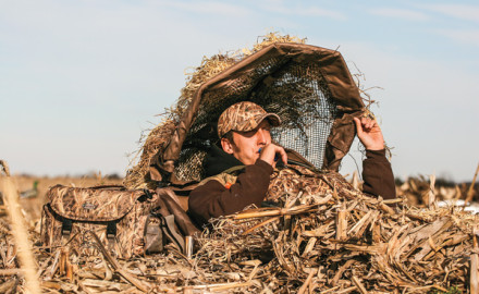 Why it's smart to hunt from a ground blind