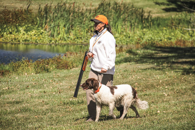 Training Gun Dog's at NAVHDA