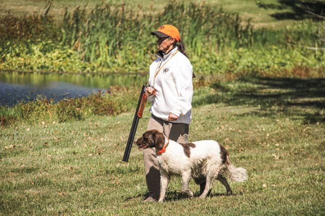Training Gun Dog's at NAVHDA