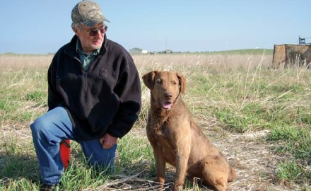 One of the greatest pleasures of hunting with dogs is the people we meet along the way. Here's a story of one chessie man.