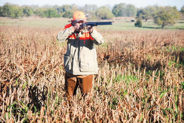 The 28-gauge Setter was quick to the shoulder and downed chukars with authority—as long as there wasn't an operator error.