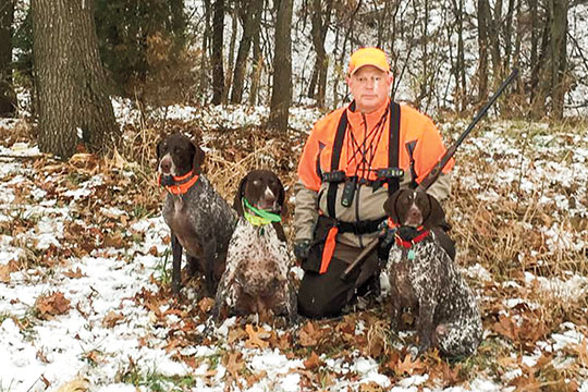 Bruce Read of Kent Nutrition Group helped  develop the Native nutrition line, which is truly a system for keeping sporting dogs going  during the season—as well as the rest of the year.