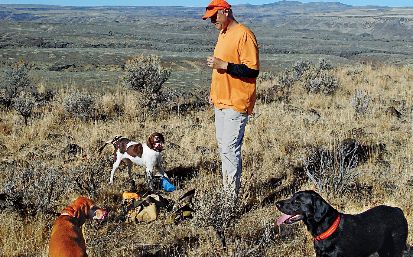 Tag-Team Chukar Hunting