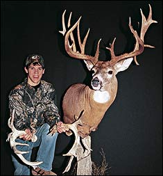 Tony Lovstuen wasn't the only Iowa schoolboy to make hunting history in 2003. Brian Andrews also scored with a chart-buster, setting a state record in the archery category.
