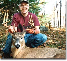 On Oct. 20, 1994, Todd Vandenberg of Appleton, Wisconsin, arrowed this