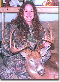 After starting her whitetail-hunting career in 2001, New York's Diane Riley