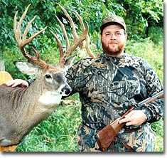 After missing this 165 2/8-inch 14-pointer on opening morning of muzzleloader