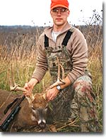 As the newcomer to the 120-acre hunting spot in Missouri City, Missouri, Kansas