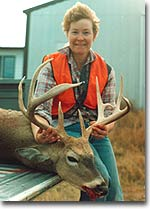 After seeing this big Wyoming buck on the second day of the 1991 gun season,