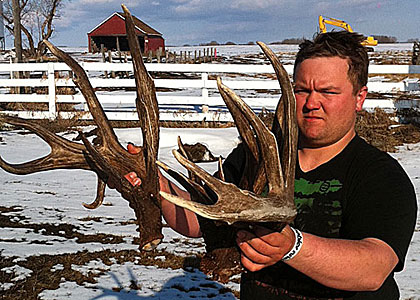 A three-day shed hunt in north central Saskatchewan produces a trophy shed find of a lifetime.