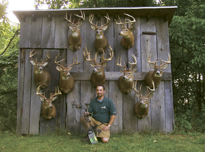This well-known trophy hunter from Ohio shares over 30 years of accumulated wisdom and lessons learned in the whitetail woods.
